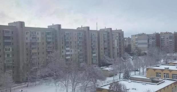 Чернігів у снігу