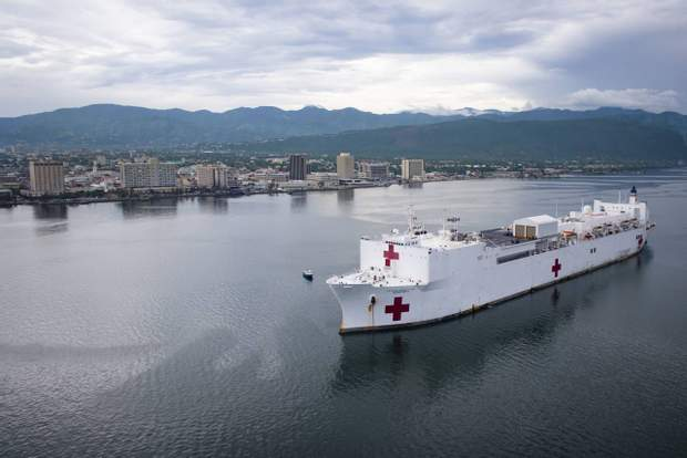 госпитальний корабель США