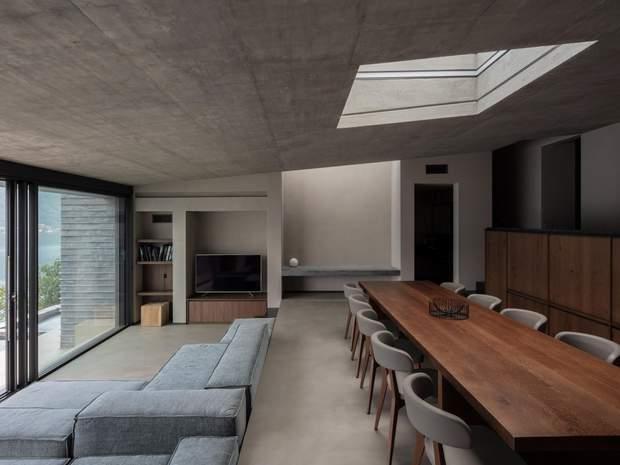 Низькі стелі додають простору затишку / фото: Deezen