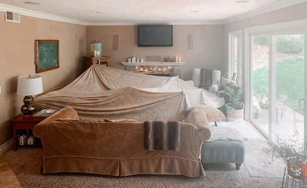 Ми з дітьми створили васну фортецю вдома