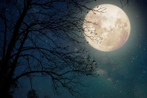 Місяць у повні