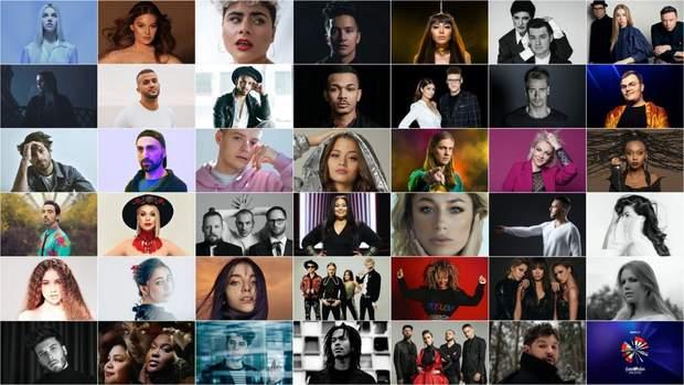Учасники нового формату Євробачення