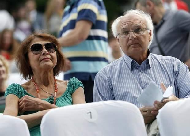 Іван Вакарчук з дружиною