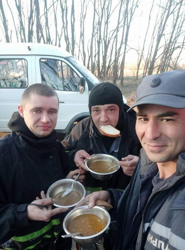 пожежа у Чорнобилі, рятувальники