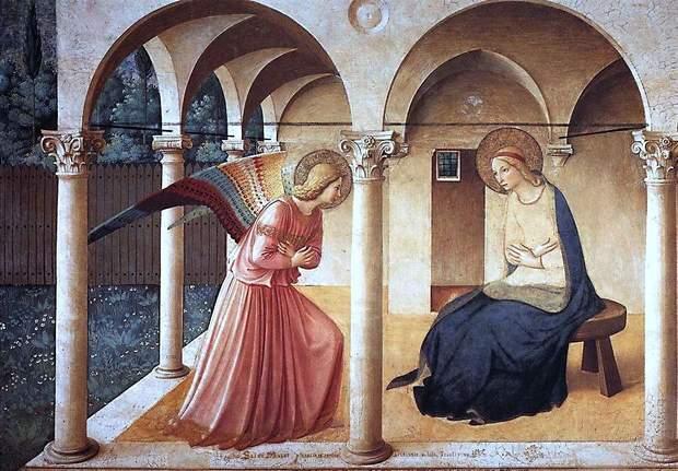 Привітання з Благовіщенням у прозі