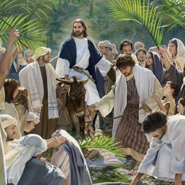 В'їзд Ісуса в Єрусалим