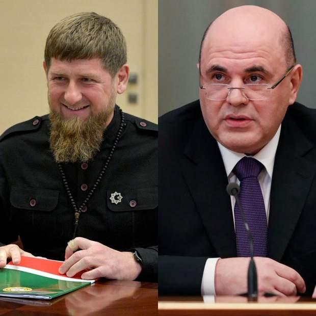 Рамзан Кадиров Михайло Мішустін