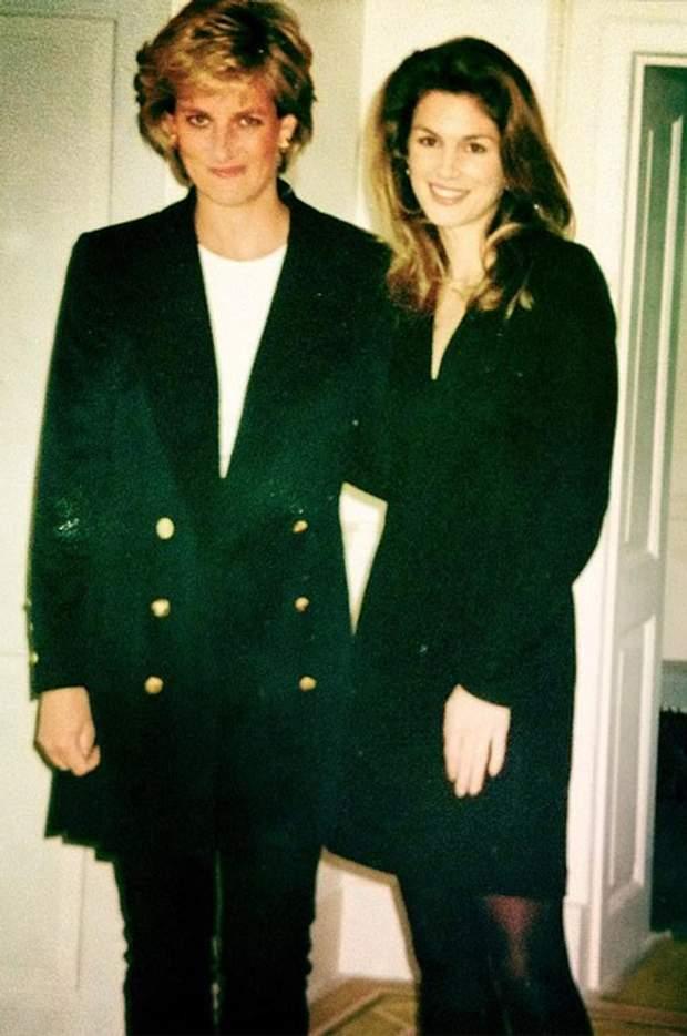 Сінді Кроуфорд та принцеса Діана