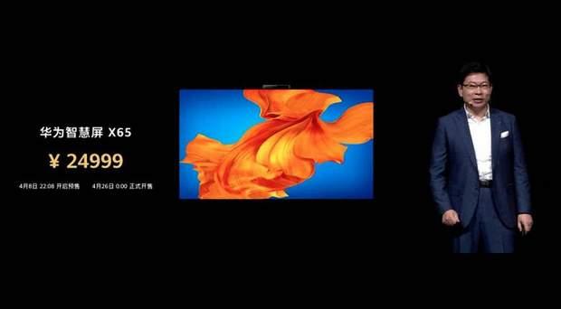 Розумний телевізор від Huawei