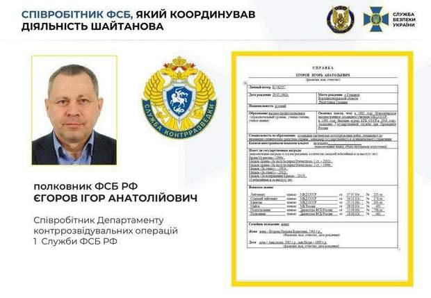 Єгоров ФСБ