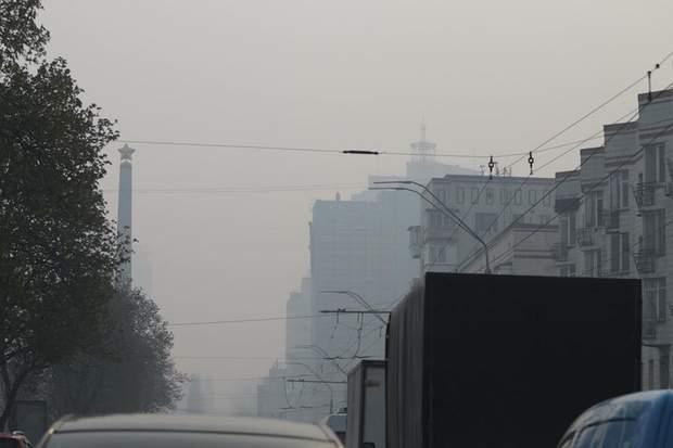 В Киеве снова самый загрязненный воздух в мире