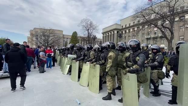 Митинг Владикавказ