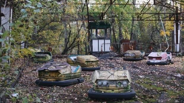 Парк атракціонів Чорнобиль Прип'ять аварія