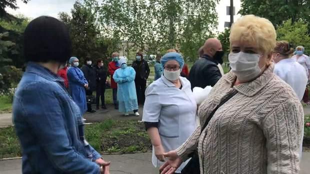 Протести медиків в Києві