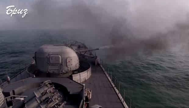 Мощные учения ВМС Украины: фрегат 'Гетман Сагайдачный' обнаружил корабли РФ