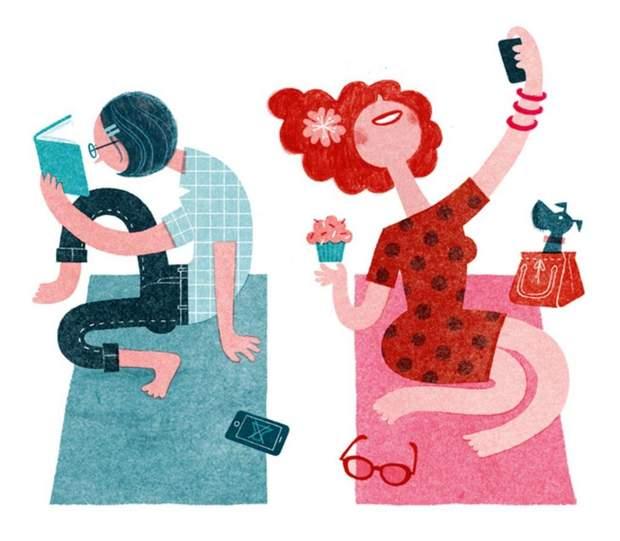 В амбівертів поєднуються типи екстраверта та інтроверта