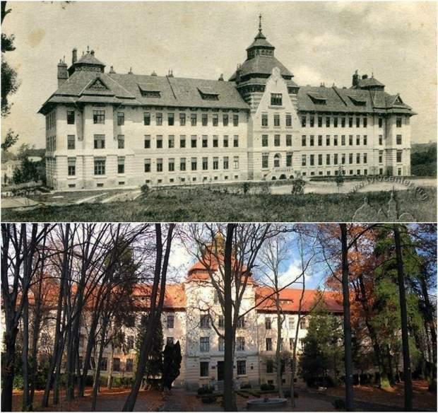 Будинок історично був навчальним закладом / фото: Lviv1256