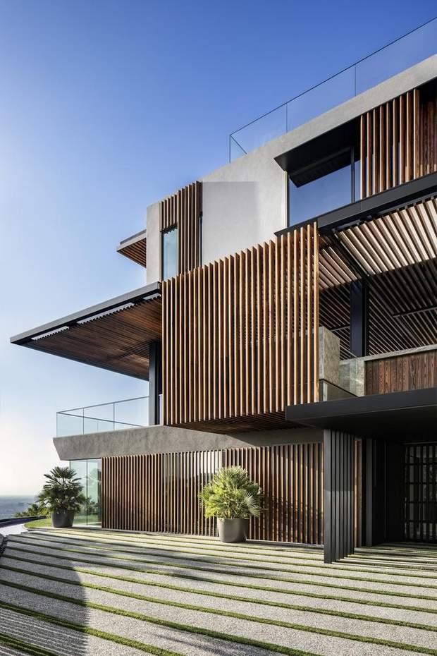 Дизайн будинку не спотворює довколишній ландшафт / фото: Archdaily