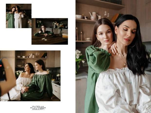 Маша Єфросиніна з донькою Наною / Vogue