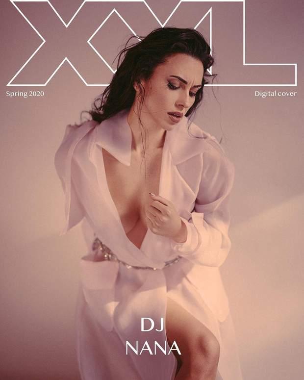 DJ NANA снялась в эротической фотосессии для мужского глянца: страстные фото 18+