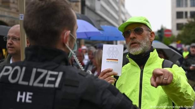 протести німеччина