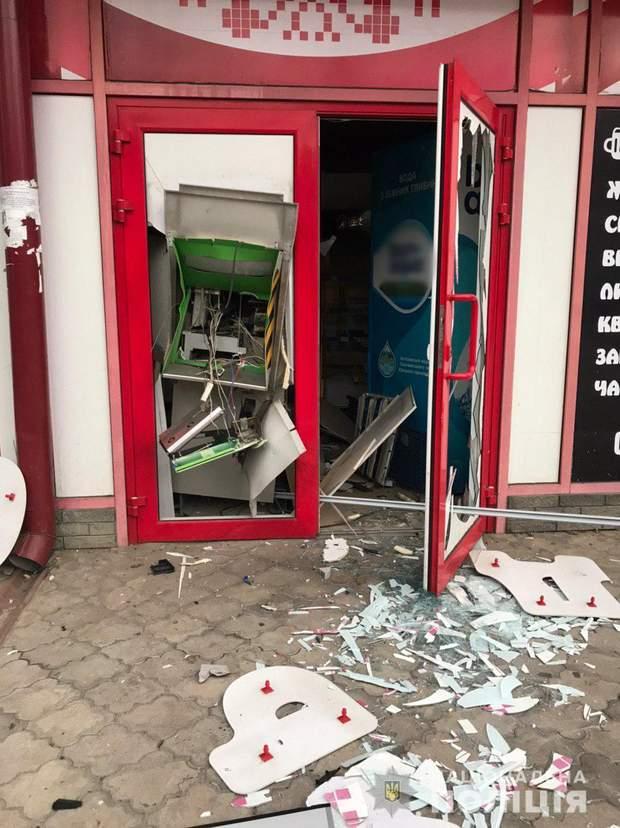 підрив банкомата, Харків