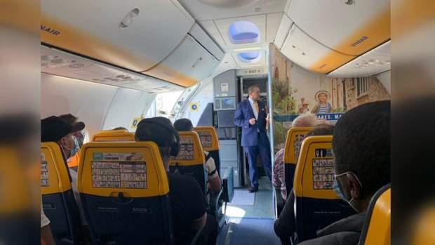 Дистанція у літаку
