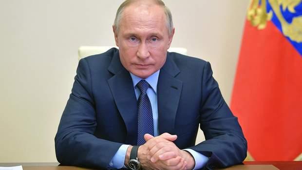 путін закнчив карантин і прирік на смерть росіян
