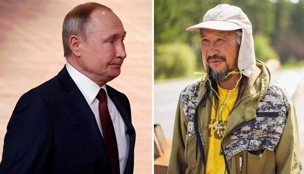 Путін і Габишев