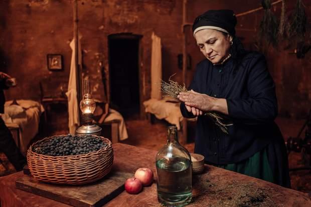 Наталья Сумская рассказала о съемках в фильме 'Черный ворон'