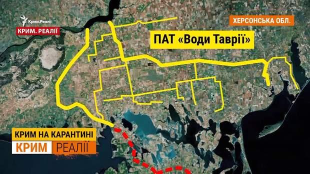 План подачі води в Крим