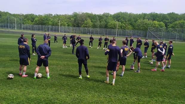 тренування футбол карантин