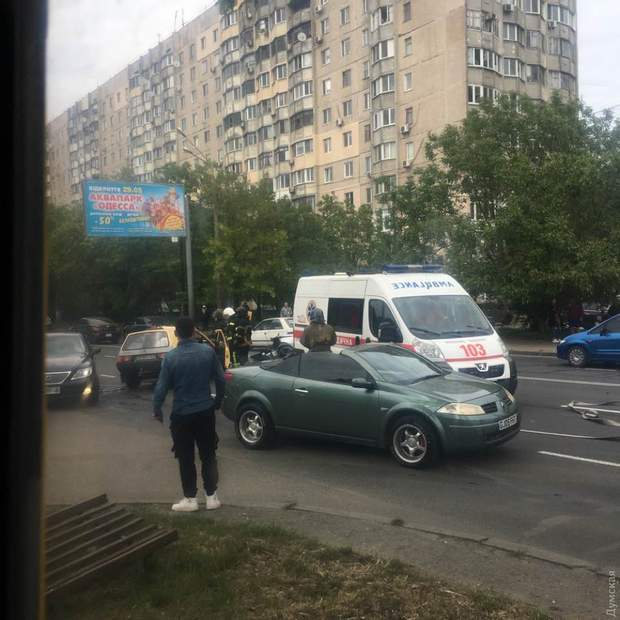 ДТП, Люстдорфська дорога, Одеса, кримінал, потерпілі