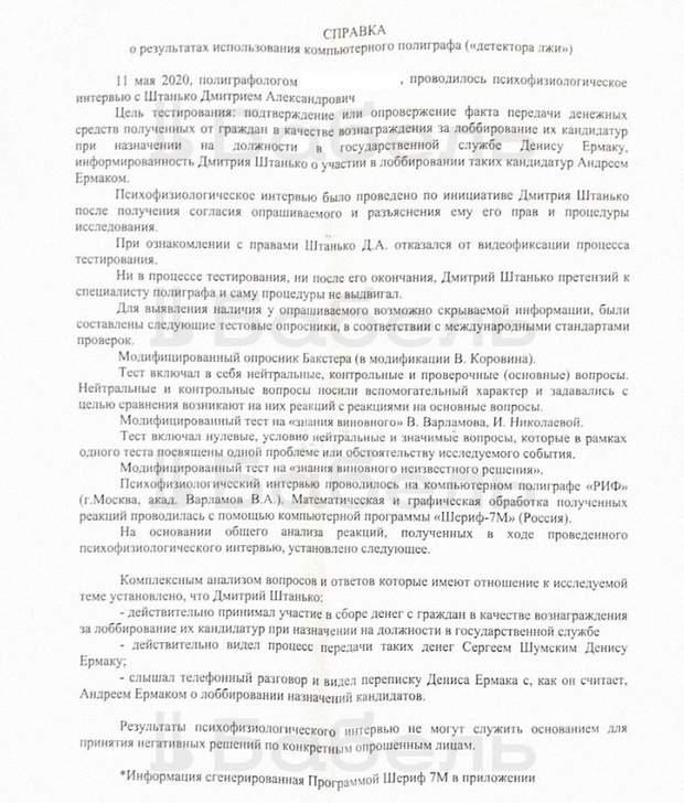 поліграф Штанька