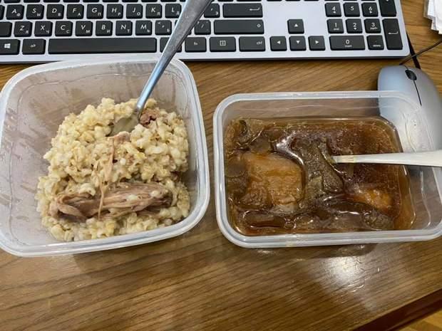Слабонервным не смотреть: Малюська показал, чем кормят в киевском СИЗО – фото