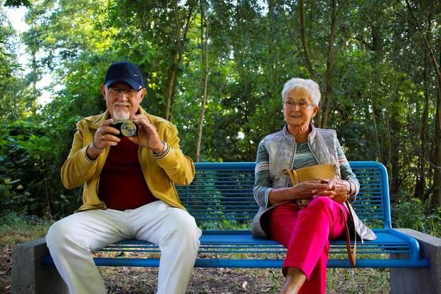 пенсіонери на пенсії