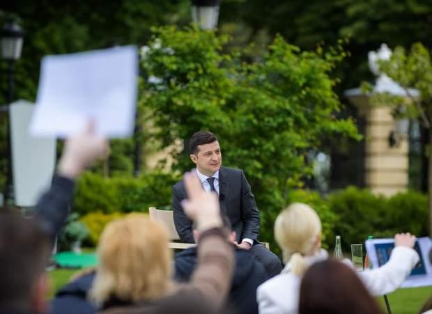 Зеленський на пресконференції 20 травня