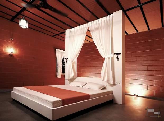 У спальні розкішний інтер'єр / фото: Archdaily