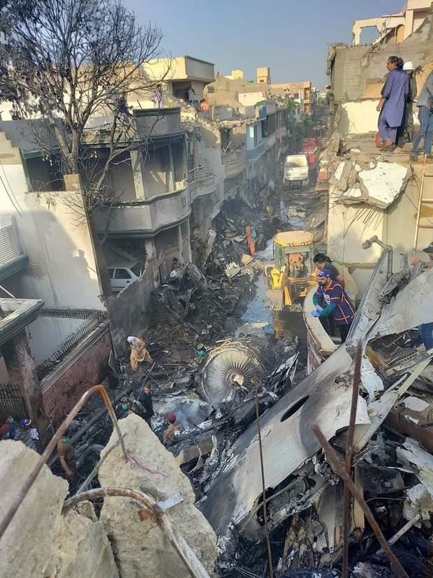 Пакистан катастрофа 22 травня