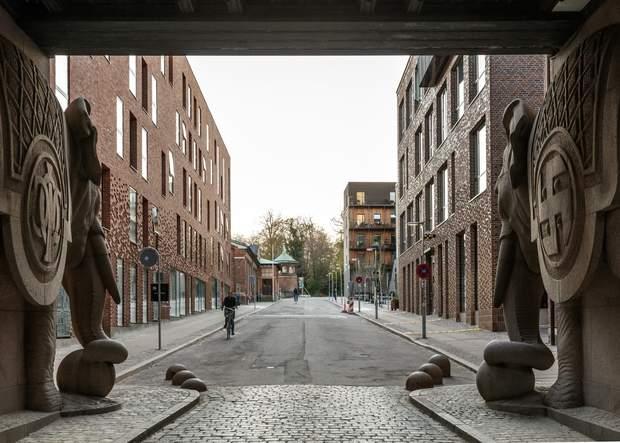Ворота Слонів у Копенгагені / фото: Archdaily