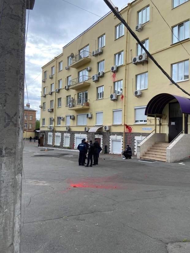 Вибух біля офісу Медведчука