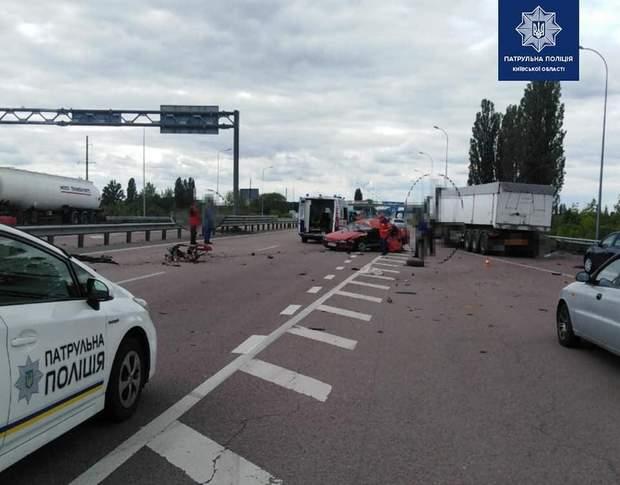 аварія біля Києва