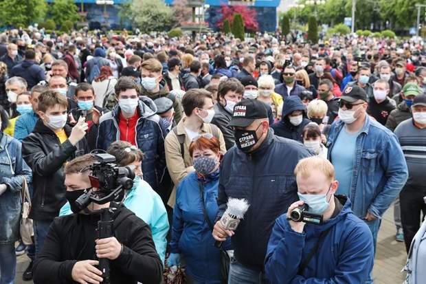 В Беларуси протестуют против выдвижения Лукашенко на шестой президентский срок