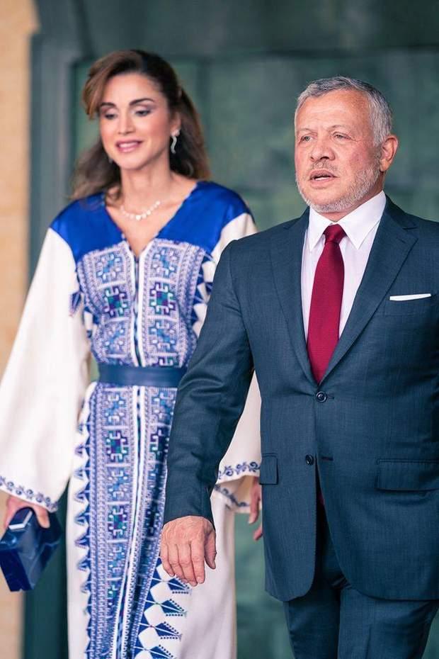 Король та королева Йорданії