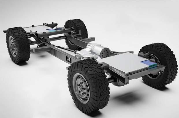 Land Rover Defender перетворили в розкішний електрокар з мотором від Tesla: фото