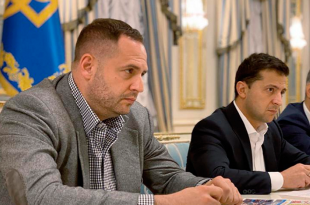 Андрій Єрмак та Володимир Зеленський