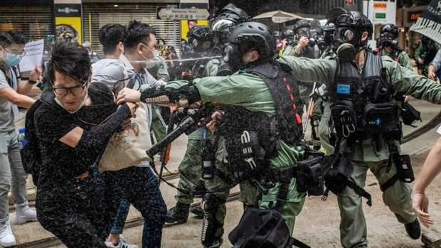 гонконг мітинги