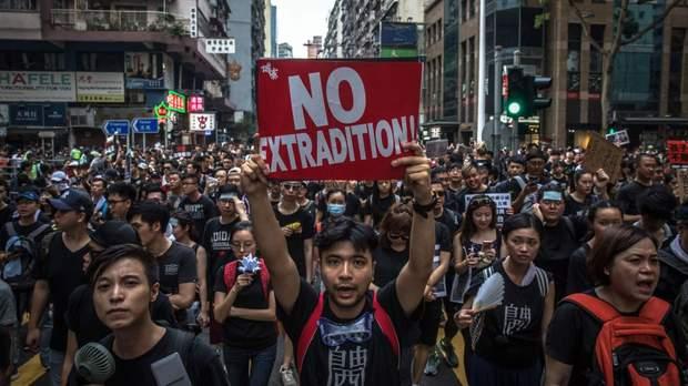 Гонконг 2019 екстрадиція