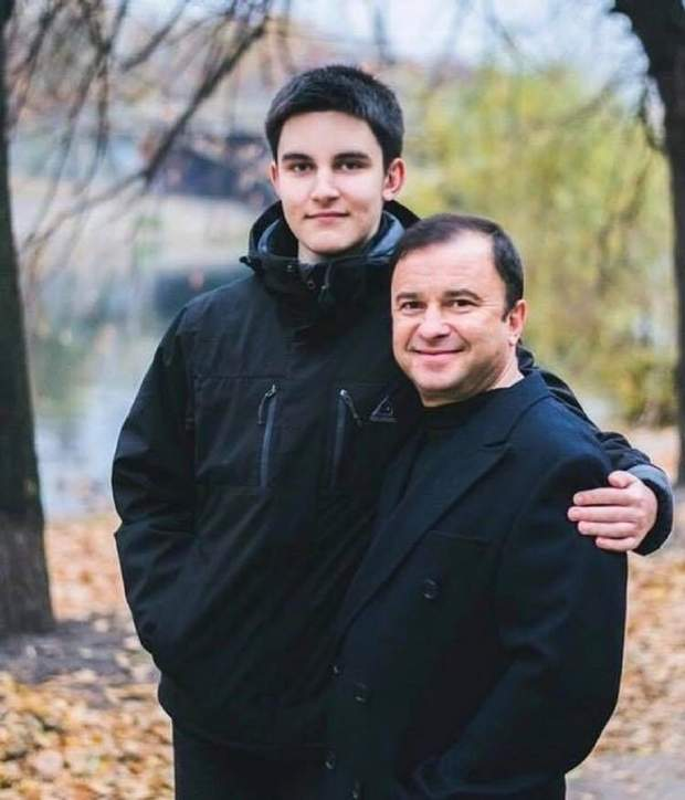 Віктор Павлік з сином Павлом