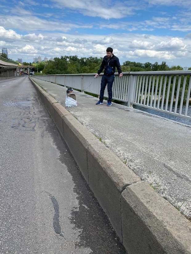 мінування мосту Метро